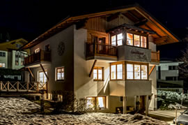 Pension Landhaus Filzmoos im Winter